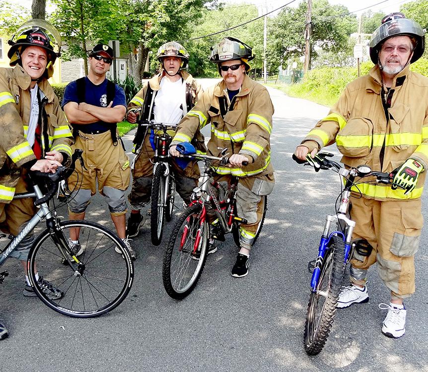 Bike Race 2015 July 26 Green Brook FD - Frank Reilly photo