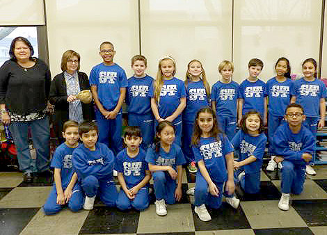 (above, l-r) Front Row: Dylan Salvadore, Theodore Milewski, Michael Antinozzi, Arielle Lopina, Alexa Nogueira, Abigail Han, Bryce Mays and Back Row: Joyce Chiapetta, Fran Day, Brandon Lissade, Sean Matier, Rhayanne Koblinger, Emma Cabrera, Quinn Powers, Jacob Falconer, Mia Pumarada, Bianca Luciano.