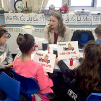 Hehnly School's Breakfast Bunch Starts The Day Learning