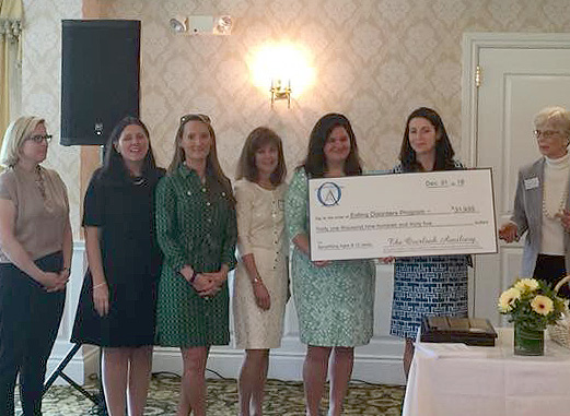 (above) The 2015 House Tour committee raised over $30,000 for the Eating Disorders Clinic at Overlook Hospital.