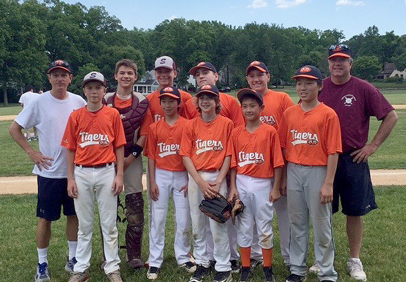 (above) Al Lord and John Mencke coached the team. The players included: Bradley Chao, Ronnie Faris, Austin Groce, Jonathan Liang, Charlie Lord, Brendan Mcdonald, Jack Mencke, Jake Puskar, Palmer Shikany, Gregory Spitznagel and Ryan Tomlin.