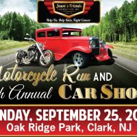 Jason's Friends Foundation Inc. 6th Annual Car Show & Motorcycle Run