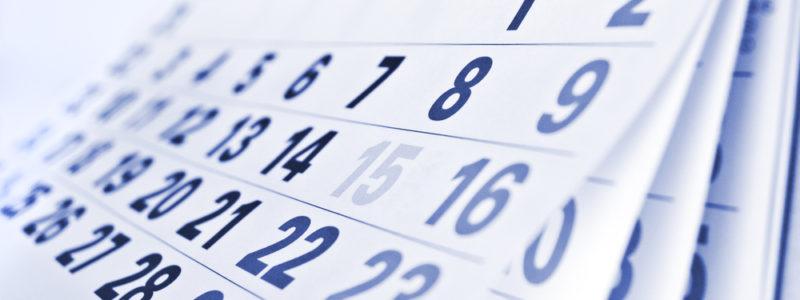 Our Event Calendar