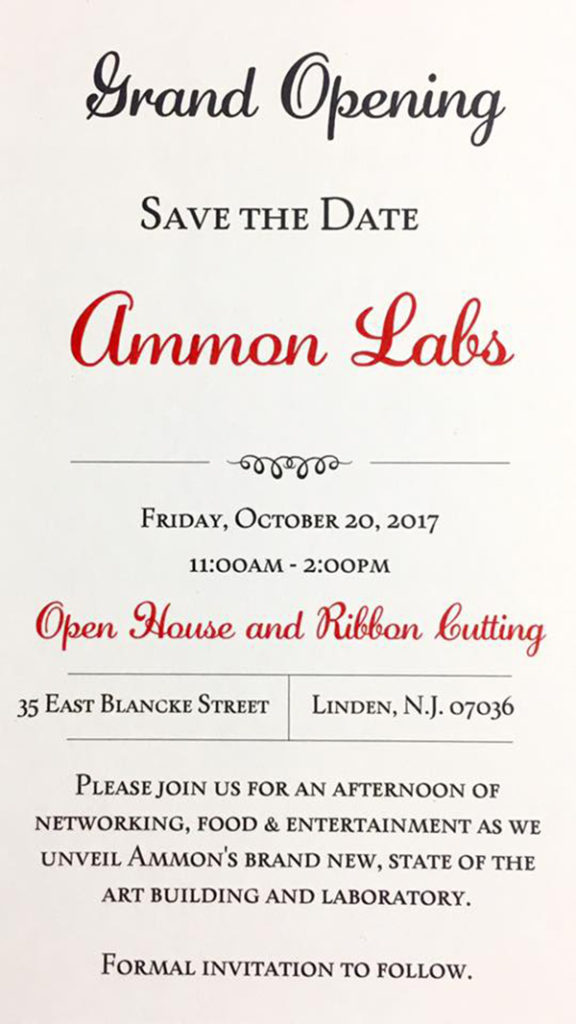 Ammon Labs Grand Opening @ Linden | New Jersey | United States