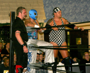 Pro wrestling at the Elks Club 2011