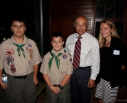 Boy Scouts Host Chamber Event 2016