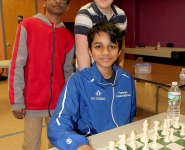 Praveen's Simul at Kenilworth Chess Club 2016