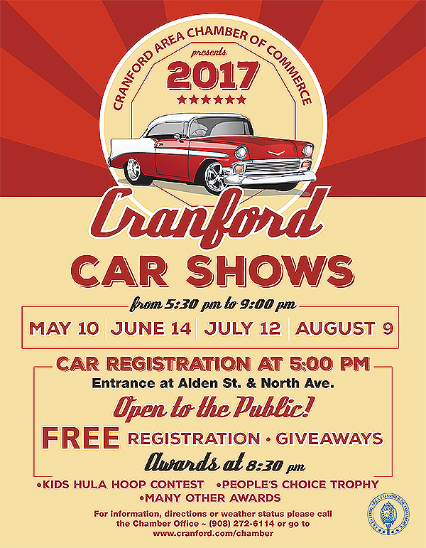 Cranford Car Show Renna Media - Car show giveaways