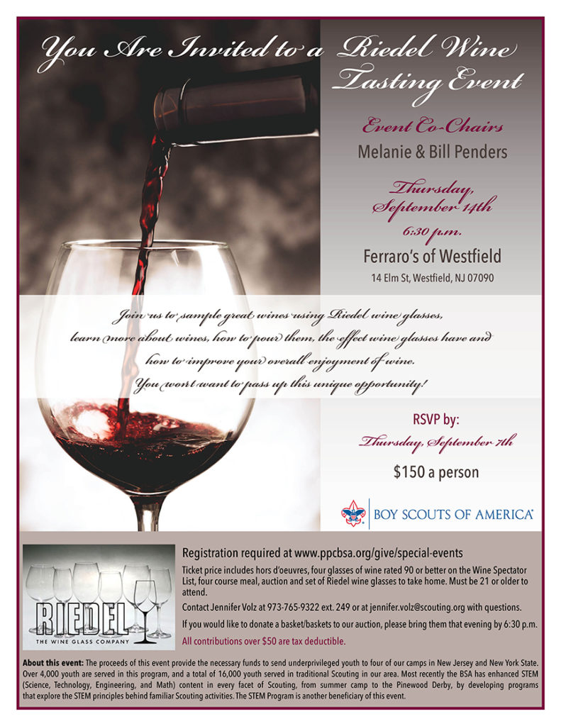 Riedel Wine Tasting Event at Ferraro's of Westfield @ Ferraro's of Westfield | Westfield | New Jersey | United States