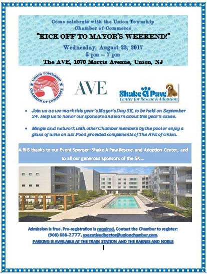 "Union ""Kick Off to Mayor's Weekend!"" @ The AVE 