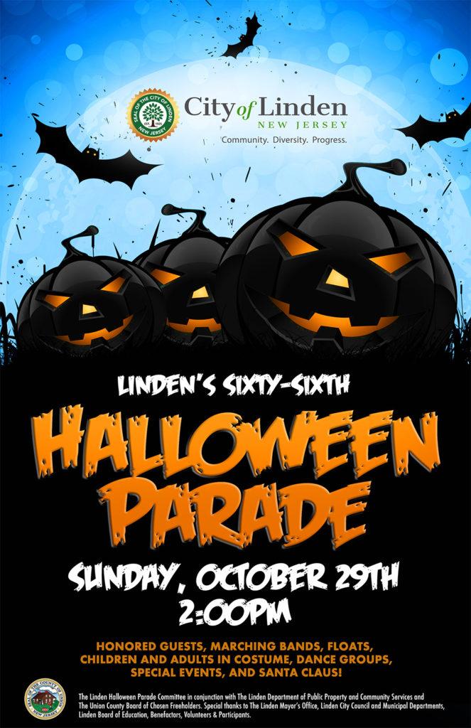 Linden Halloween Parade