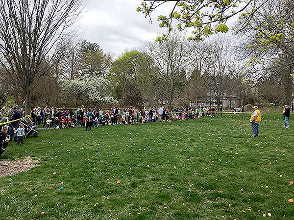 83rd Annual Kiwanis Easter Egg Hunt @ Mindowaskin Park in Westfield