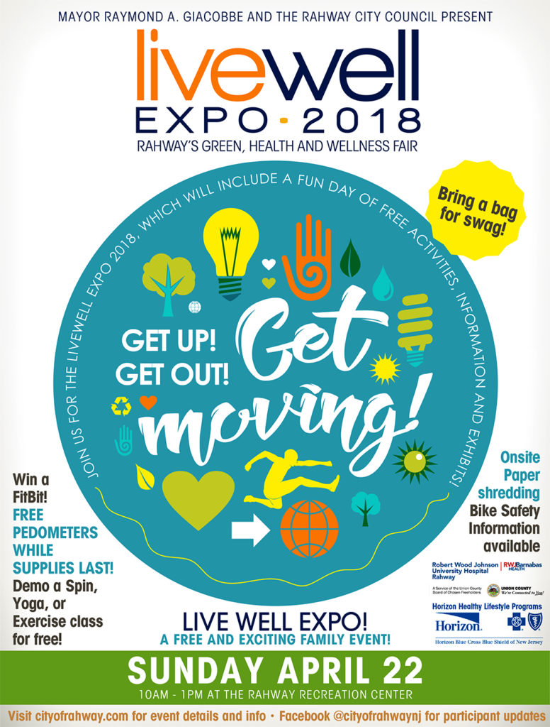 Live Well Expo 2018 @ The Rahway Recreation Center