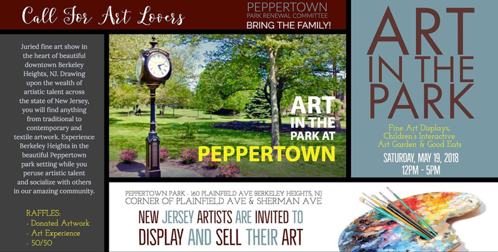 Art in the Park Open Call for New Jersey's Fine Artists @ Peppertown Park | Berkeley Heights | New Jersey | United States