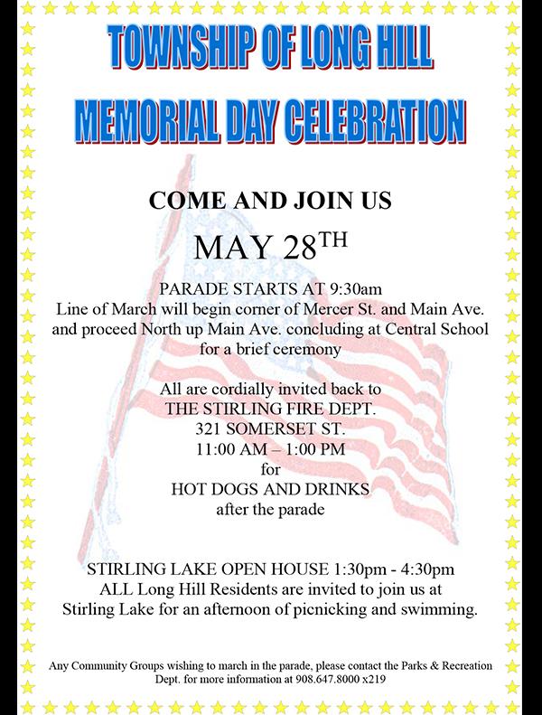 Long Hill Memorial Day Parade