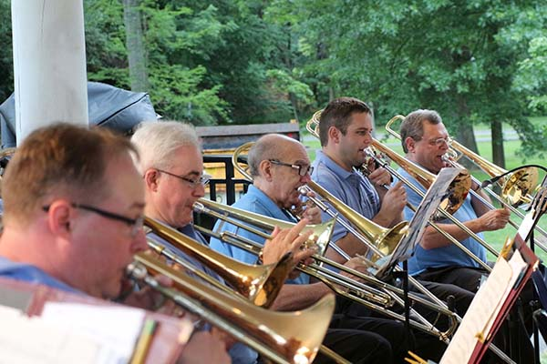 Westfield Community Band Presents Annual Independence Day Concert @ Mindowaskin Park