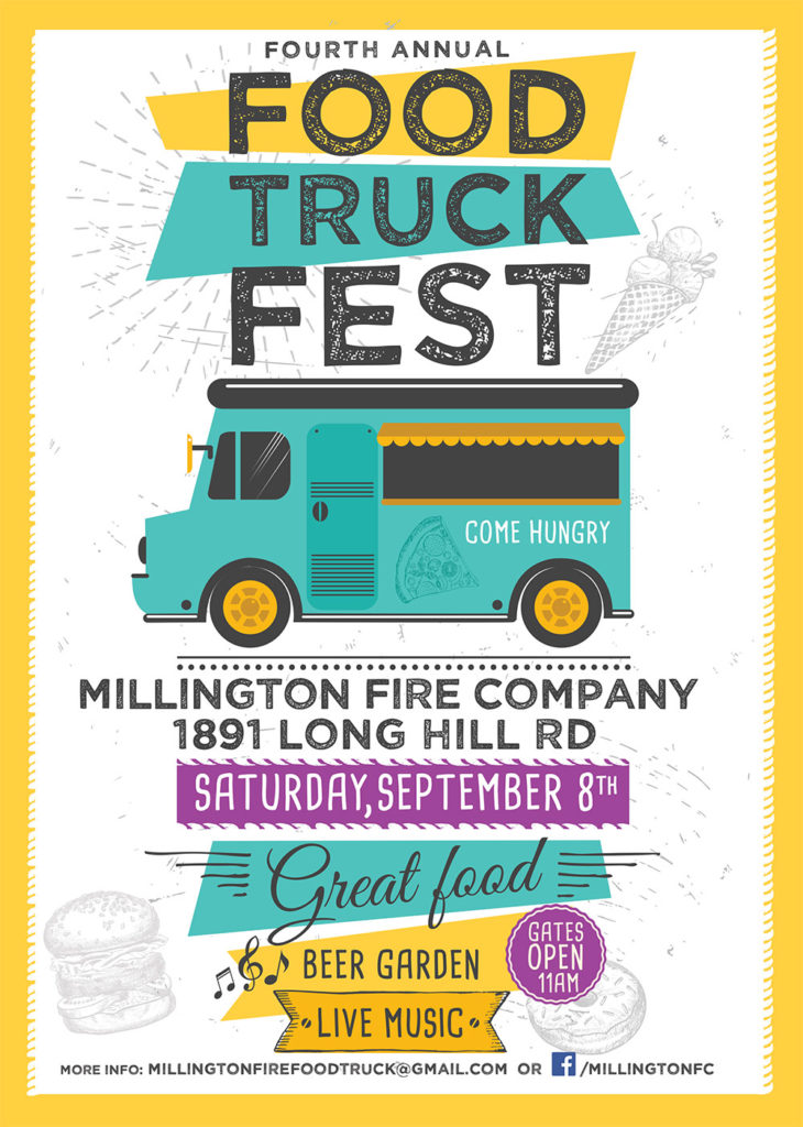 4th Annual Food Truck Fest @ Millington Fire Company | Long Hill | New Jersey | United States