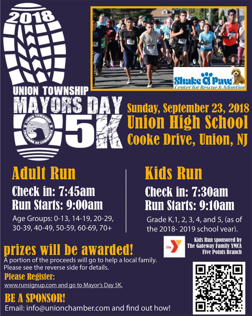 Union Mayor's Day 5K