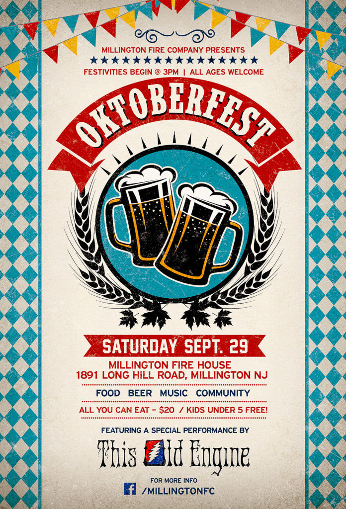 Oktoberfest Presented by the Millington Fire Company @ Millington Fire House | Long Hill | New Jersey | United States