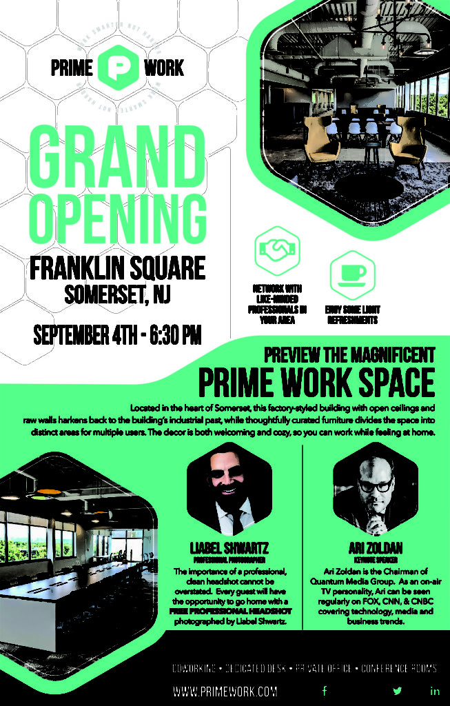 Prime Work Grand Opening a Square Somerset NJ