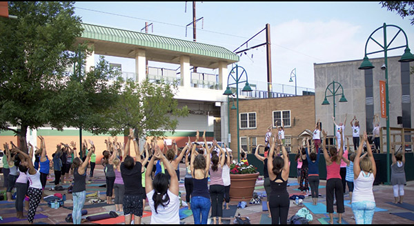 4th Annual Rahway Yoga Mala @ The Train Station Plaza on Irving St.