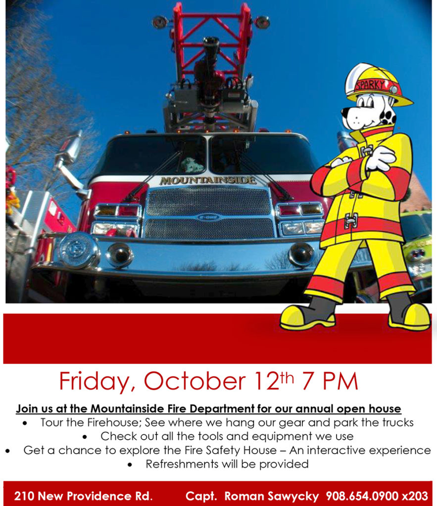 Mountainside Fire Department Annual Open House