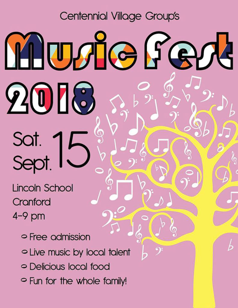 Centennial Village Group's Music Fest to Take Place September 15 @ outside of Lincoln School | Cranford | New Jersey | United States