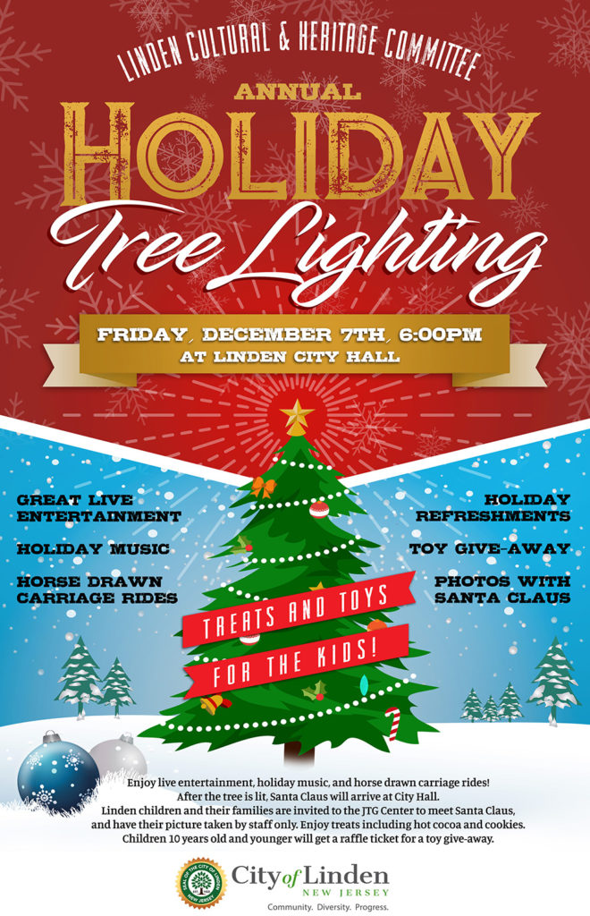 Linden Holiday Tree Lighting