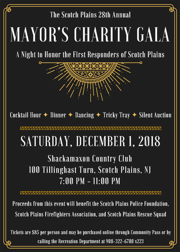 Scotch Plains Mayor's Charity Gala