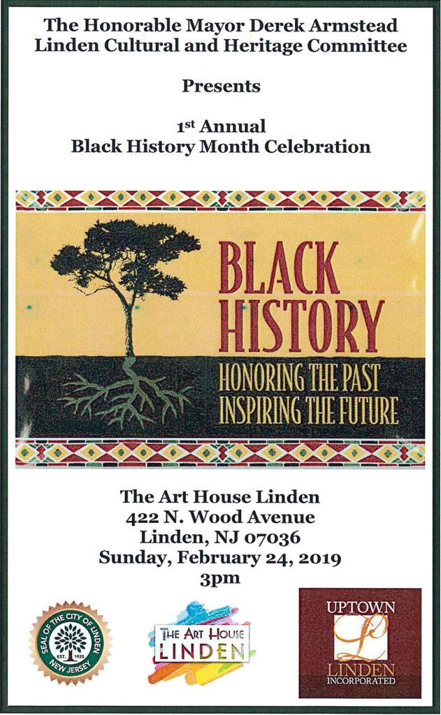 1st Annual Black History Month Celebration @ The Art House Linden