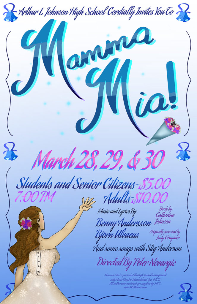 Arthur L. Johnson High School Presents Mamma Mia! @ ALJ auditorium