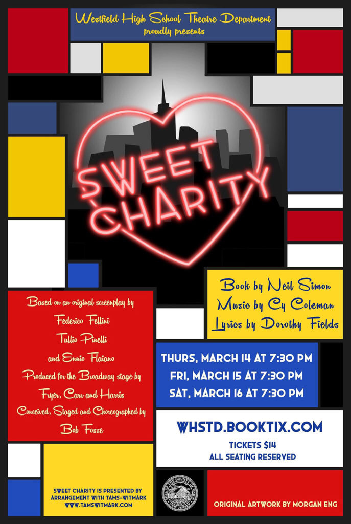 Sweet Charity to be presented by WHS