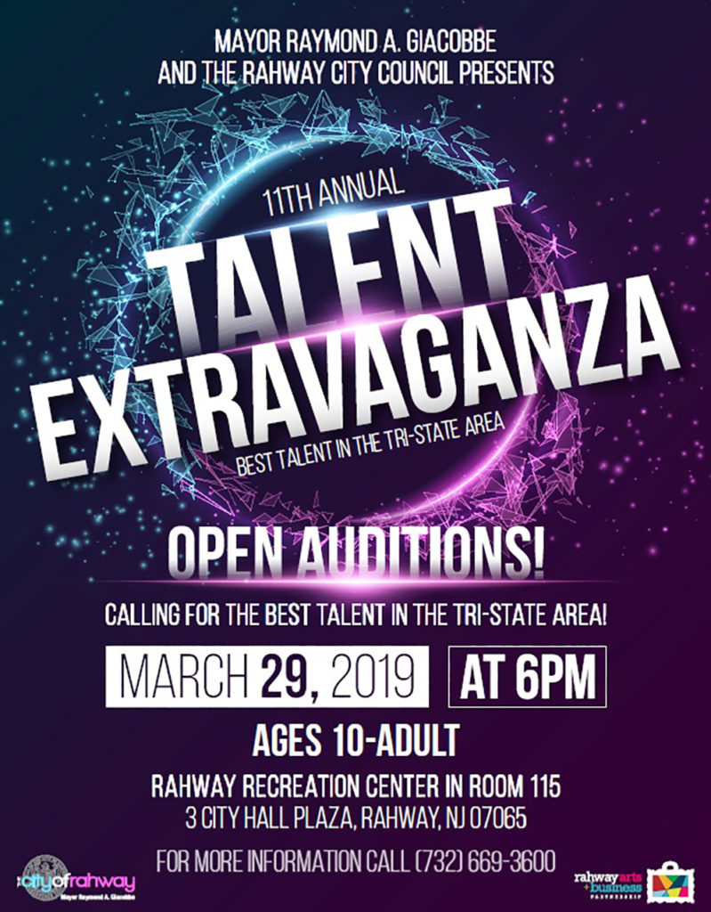Renna Media | Talent Extravaganza open auditions – March 29 |