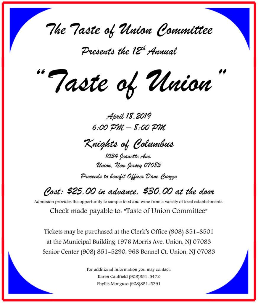 Taste of Union