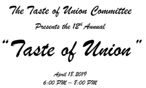 12th Annual Taste of Union @ Kinghts of Colombus