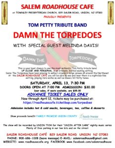 Salem Roadhouse Cafe presents Damn the Torpedoes @ Salem Roadhouse Cafe