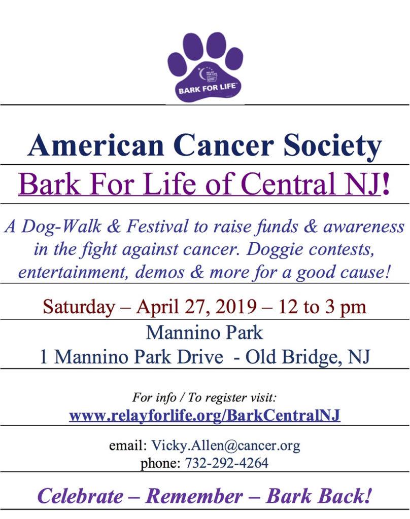 Bark For Life of Central NJ