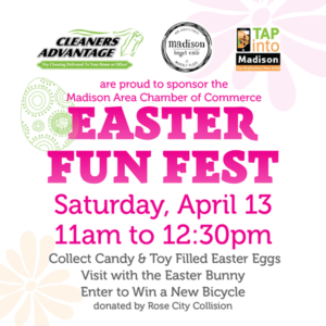 Madison's Annual Easter Fun Fest @ Rose City Collision