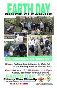 Earth Day Rahway River Clean-up @ Winfield park Rahway