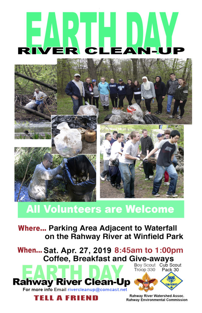 Earth Day Rahway River Clean-up