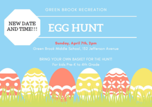 Green Brook Egg Hunt 2019 @ Green Brook Middle School