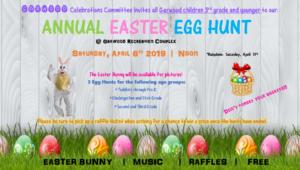Garwood's Annual Easter Egg Hunt 2019 @ Garwood Recreation Complex