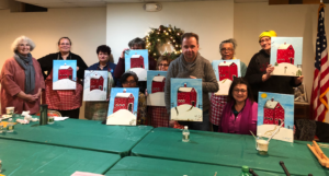 Painting Nights with Artist Patricia Hubinger @  Nitschke House cultural arts center