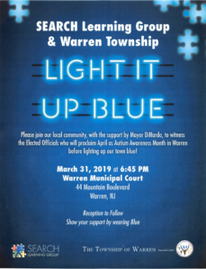 Warren Township Autism Awareness Month @ Warren Municipal Court