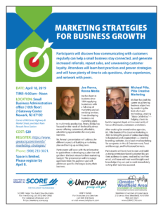 Marketing Strategies for Business Growth @ Small Business Administration Office (10th floor)