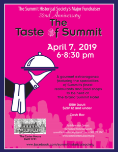 Taste of Summit gourmet dinner 2019 @ The Grand Summit Hotel