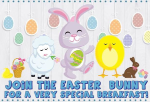 Breakfast with the Easter Bunny @ Cranford Community Center