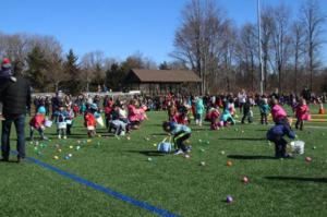 Long Hill's Annual Egg Hunt @ Kantor Memorial Park