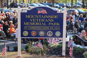 Mountainside's Memorial Day Parade 2019 @ Veterans flagpole monument on Constitution Plaza