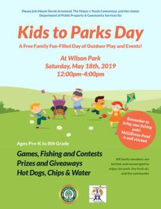 Linden's Kids to Parks Day 2019 @ Wilson Park